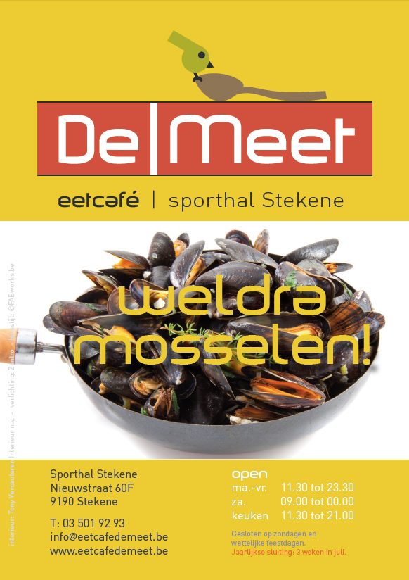 DeMeet flyer lunchmenu 3